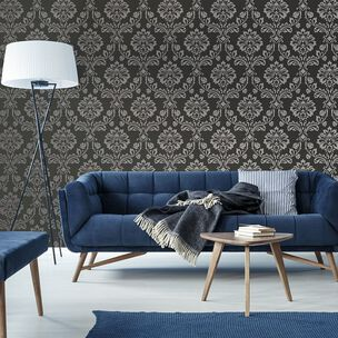 Aurora Black and Grey Wallpaper, , wallpaperIT