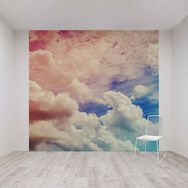Ombre Cloud Mural, , wallpaperIT
