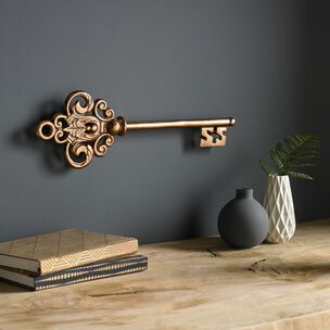 Castle Key Rose Gold Wall Art, , wallpaperIT
