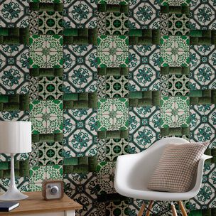 Portuguese Tile Wallpaper, , wallpaperIT