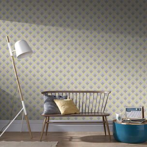 Trifina Geo Yellow Wallpaper, , wallpaperIT
