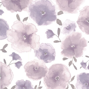 Poppies Lavender Wallpaper, , wallpaperIT