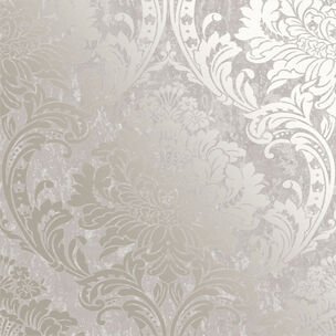 Milan Damask Taupe Wallpaper, , wallpaperIT