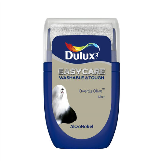 Dulux Easycare Overtly Olive 30ml Tester Pot, , wallpaperIT