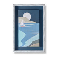 Coastal Cove Framed Canvas, , wallpaperIT