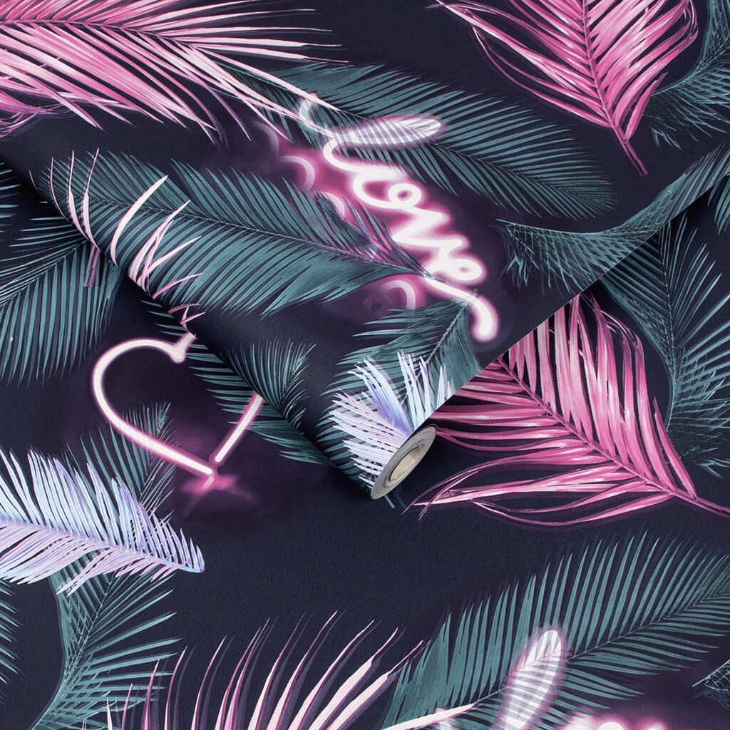 Neon Love Wallpaper, , wallpaperIT