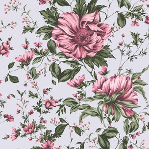 Botanical Pink Wallpaper, , wallpaperIT