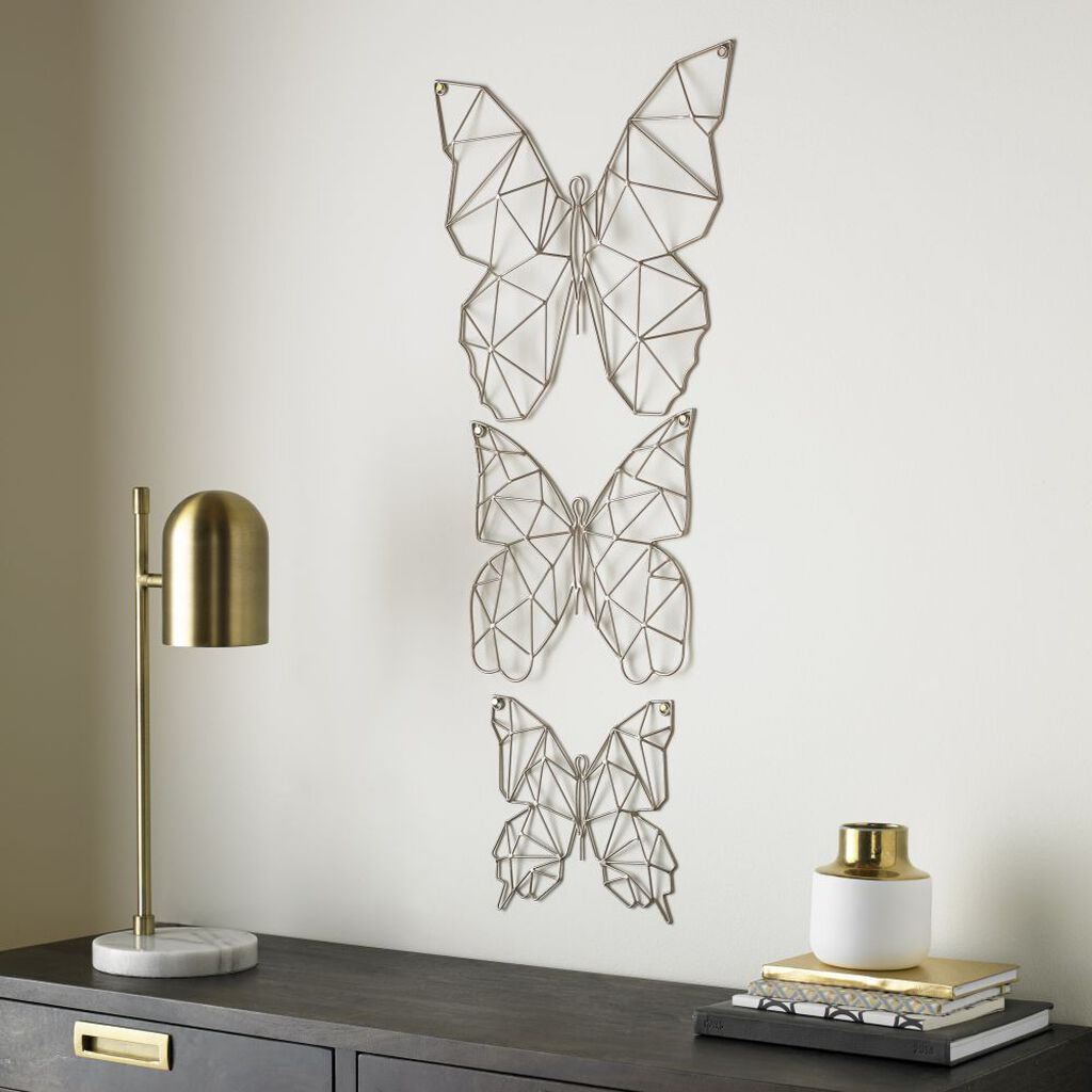 Flutter Metal Wall Art, , wallpaperIT