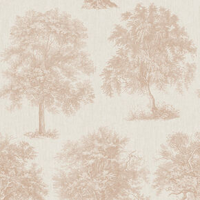 Enchanted Tree Rose Gold Wallpape, , wallpaperIT