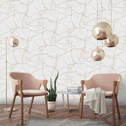 Kintsugi Gold Wallpaper, , wallpaperIT