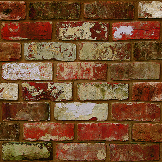 Brick Wall Red Wallpaper, , wallpaperIT