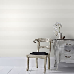 Calico Stripe Cream Wallpaper, , wallpaperIT