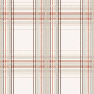 Iona Check Burnt Orange Wallpaper, , wallpaperIT