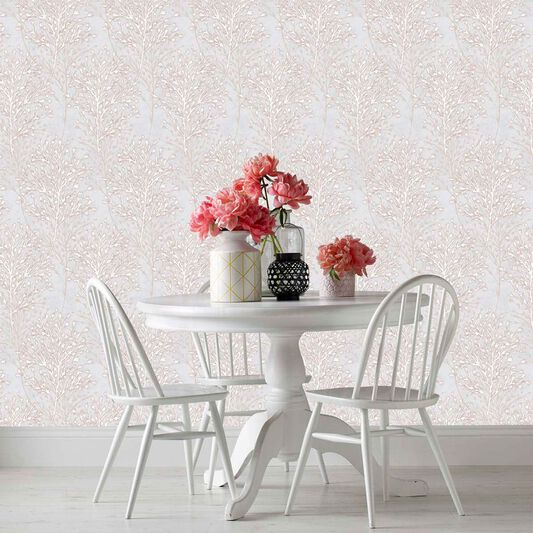 Sycamore Red & Grey Wallpaper, , wallpaperIT