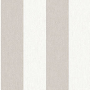 Calico Stripe  Natural Wallpaper, , wallpaperIT