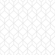 Myrtle Geo White & Silver Wallpaper, , wallpaperIT