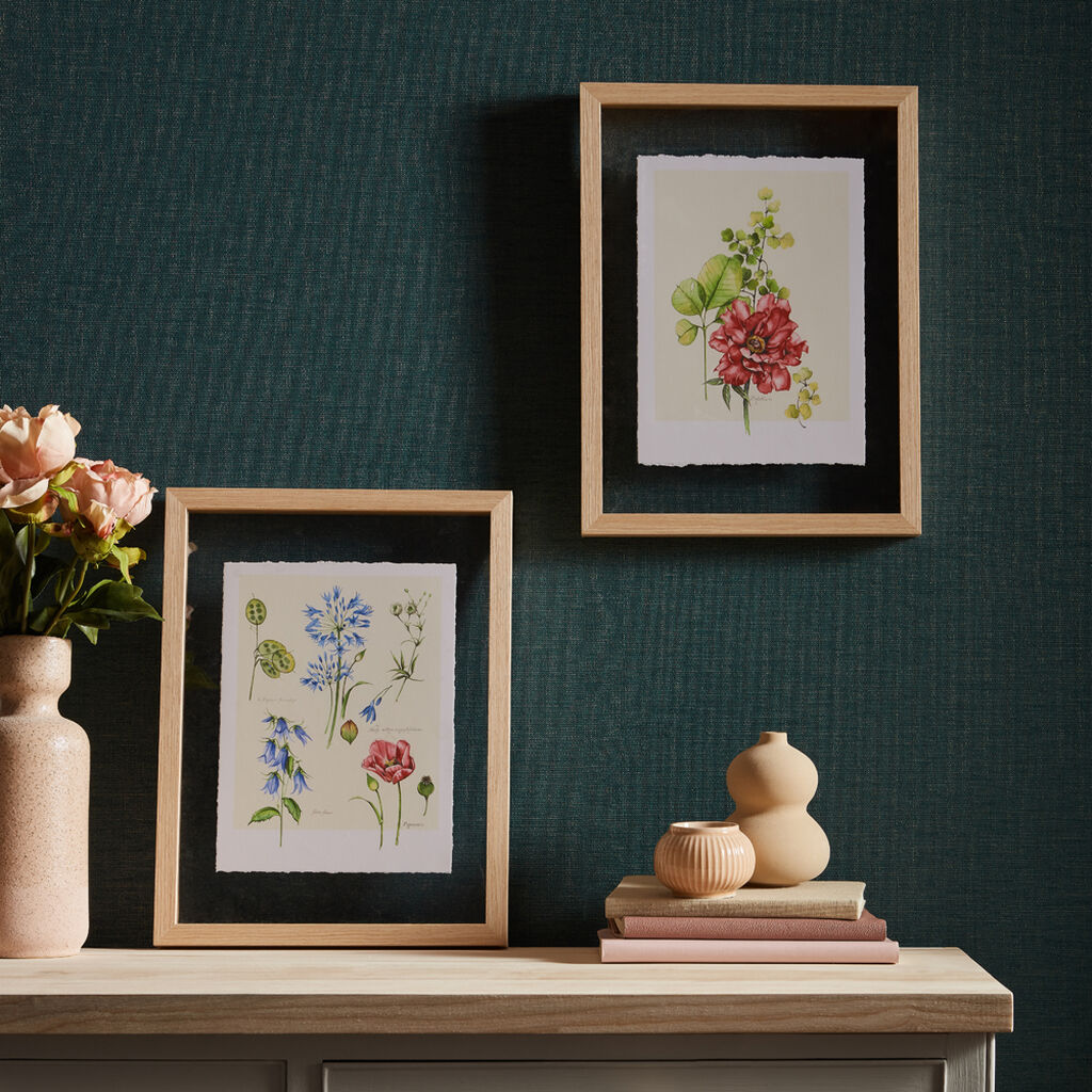 Fleur Studies Framed Prints, , wallpaperIT
