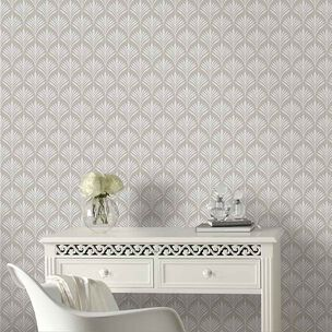 Bonnie Geo Pale Gold Wallpaper, , wallpaperIT