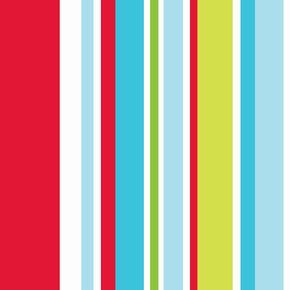 Long Island Stripe Red and Blue and Green Wallpaper, , wallpaperIT