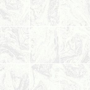 Glitter Marble Tile White Wallpaper, , wallpaperIT