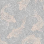 Pisces Slate Grey Wallpaper, , wallpaperIT