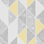 Milan Geo Yellow Wallpaper, , wallpaperIT