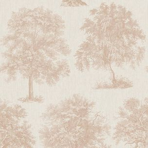 Enchanted Tree Rose Gold Wallpaper, , wallpaperIT