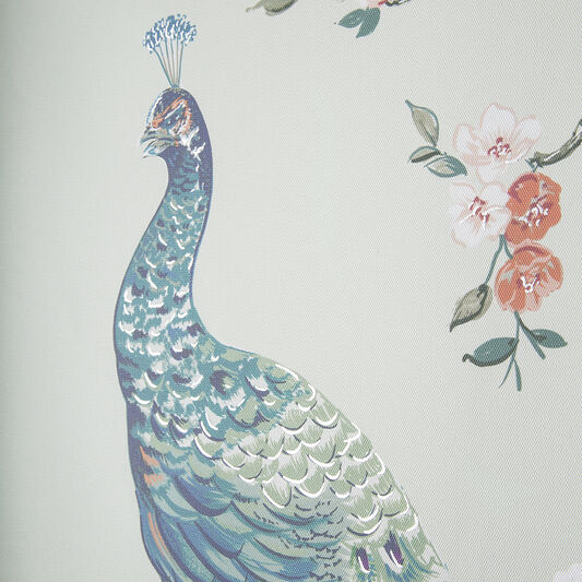 Pretty Peacock Wall Art, , wallpaperIT