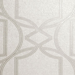 Deco Geo Ivory Wallpaper, , wallpaperIT