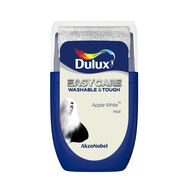 Dulux Easycare Apple White 30ml Tester Pot, , wallpaperIT