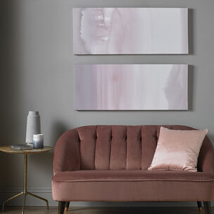 Harmony Blush Haze Printed Canvas Wall Art, , wallpaperIT