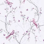 Songbird Lilac Wallpaper, , wallpaperIT