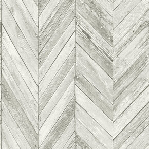 Transform Herringbone Wood Light Gray Wallpaper, , wallpaperIT