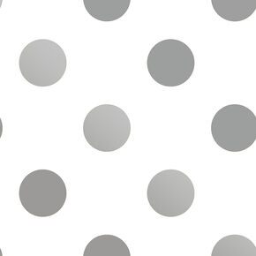 Silver Dotty Wallpaper, , wallpaperIT
