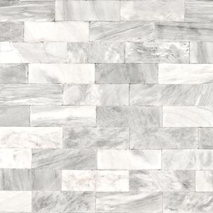 Herringbone Marble White Wallpaper, , wallpaperIT
