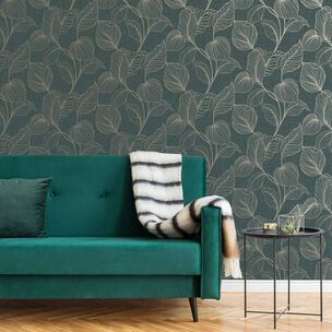 Royal Palm Emerald Wallpaper, , wallpaperIT