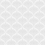 Bonnie Geo White & Silver Wallpaper, , wallpaperIT