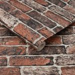 Fresco Red Brick Wallpaper