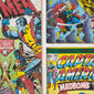 Marvel Action Heroes Multi-coloured Wallpaper, , wallpaperIT