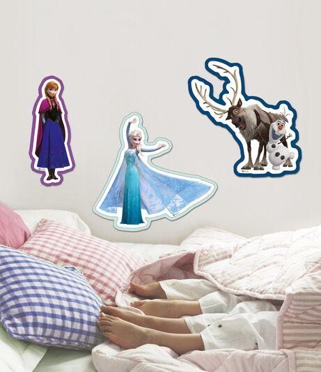 Frozen - 3 Piece Foam Stickers, , wallpaperIT