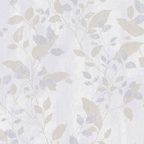 Vermeil Leaf Grey Wallpaper, , wallpaperIT