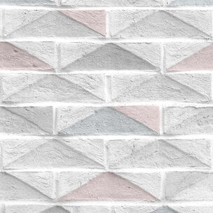 Geo Brick Blue Wallpaper, , wallpaperIT