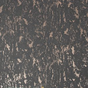 Milan Charcoal & Rose Gold Textured Plain Wallpaper, , wallpaperIT