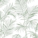 Litho Tropical Green Wallpaper