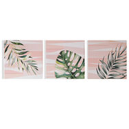 Luscious Leaves Printed Canvas Wall Art, , wallpaperIT