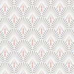 Selena Pink Art Deco Wallpaper