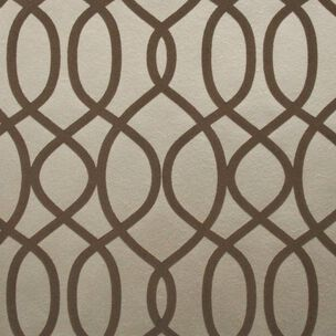 Knightsbridge Flock Taupe Wallpaper, , wallpaperIT