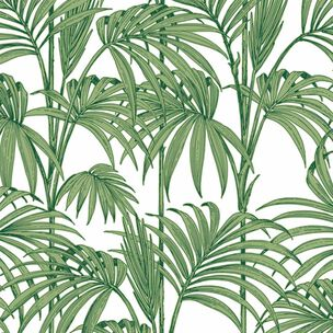 Honolulu Palm Green Wallpaper, , wallpaperIT