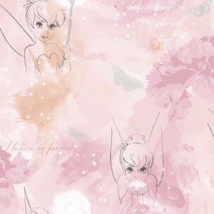 Tinkerbell Watercolour Wallpaper, , wallpaperIT