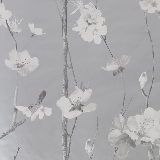 Hanami Silver Wallpaper, , wallpaperIT